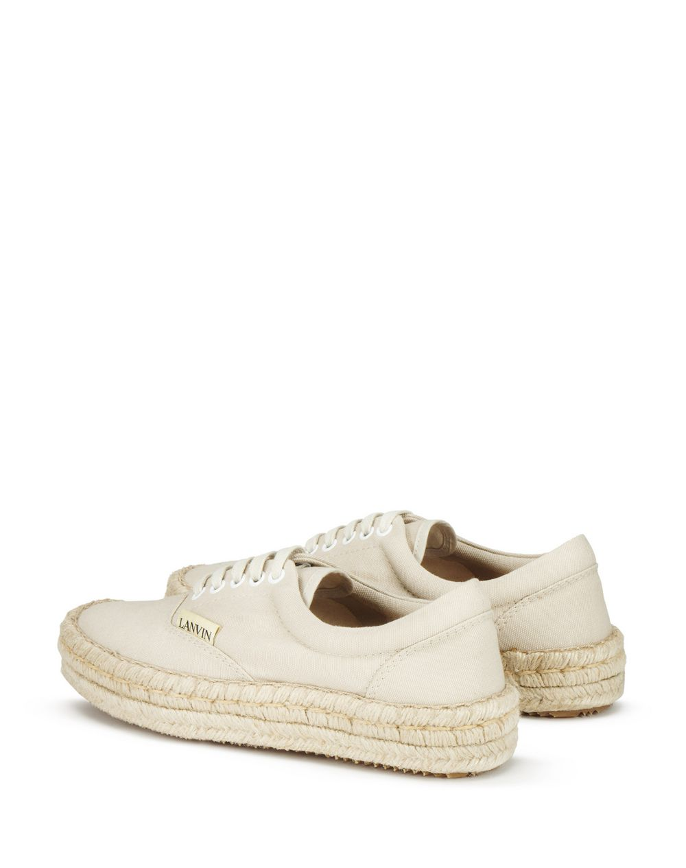 ESPADRILLE SNEAKER IN CANVAS COTTON - Lanvin