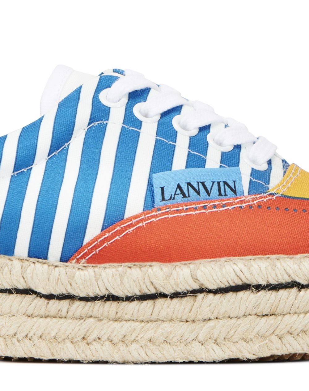 ESPADRILLE SNEAKER IN COTTON CANVAS - Lanvin