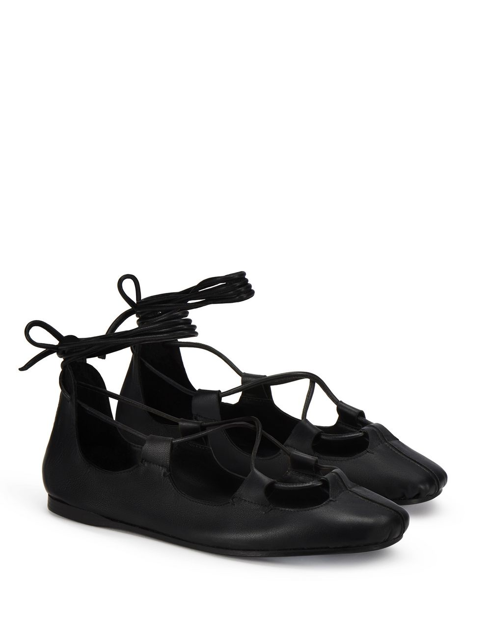 LEATHER GHILLIES  - Lanvin