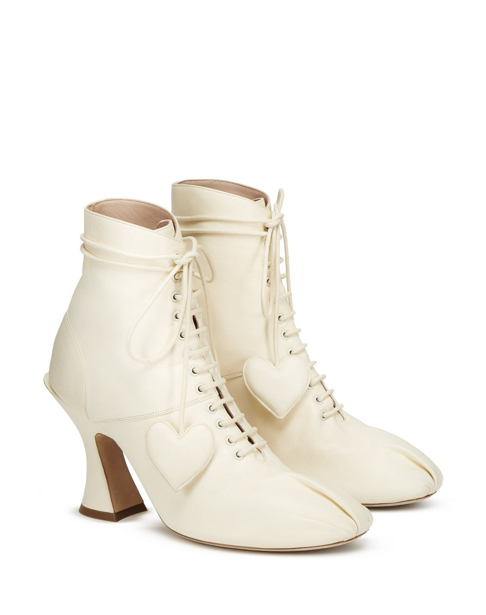 SWAN LACE-UP ANKLE BOOT - Lanvin