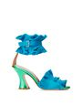 LANVIN Sandals Woman PLEATED HIGH-HEELED SANDAL f