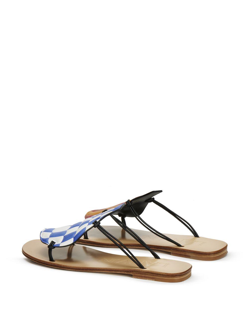 HOT-AIR BALLOON FLAT SANDAL - Lanvin