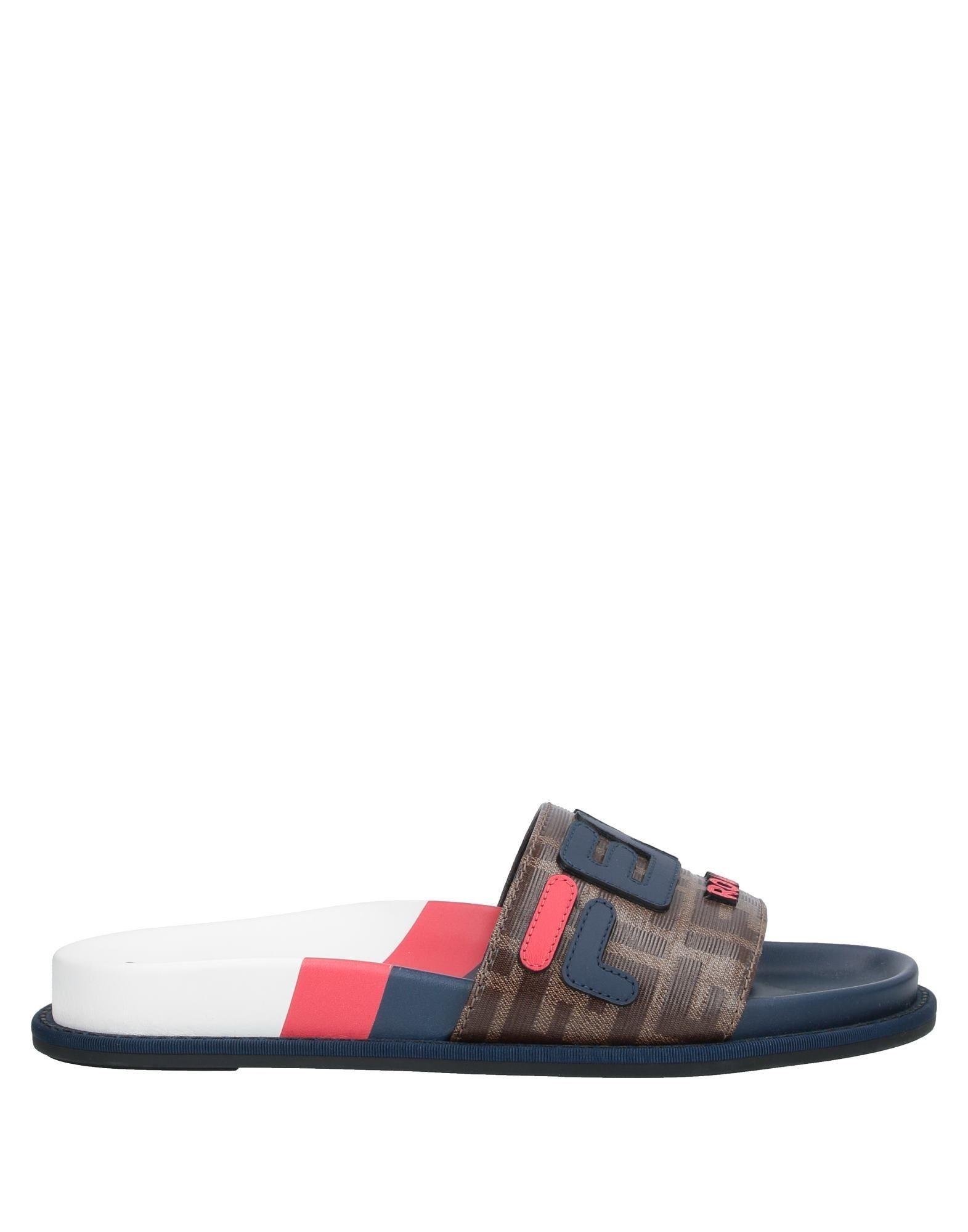 FENDI x FILA Сандалии fendi сандалии с ярким логотипом