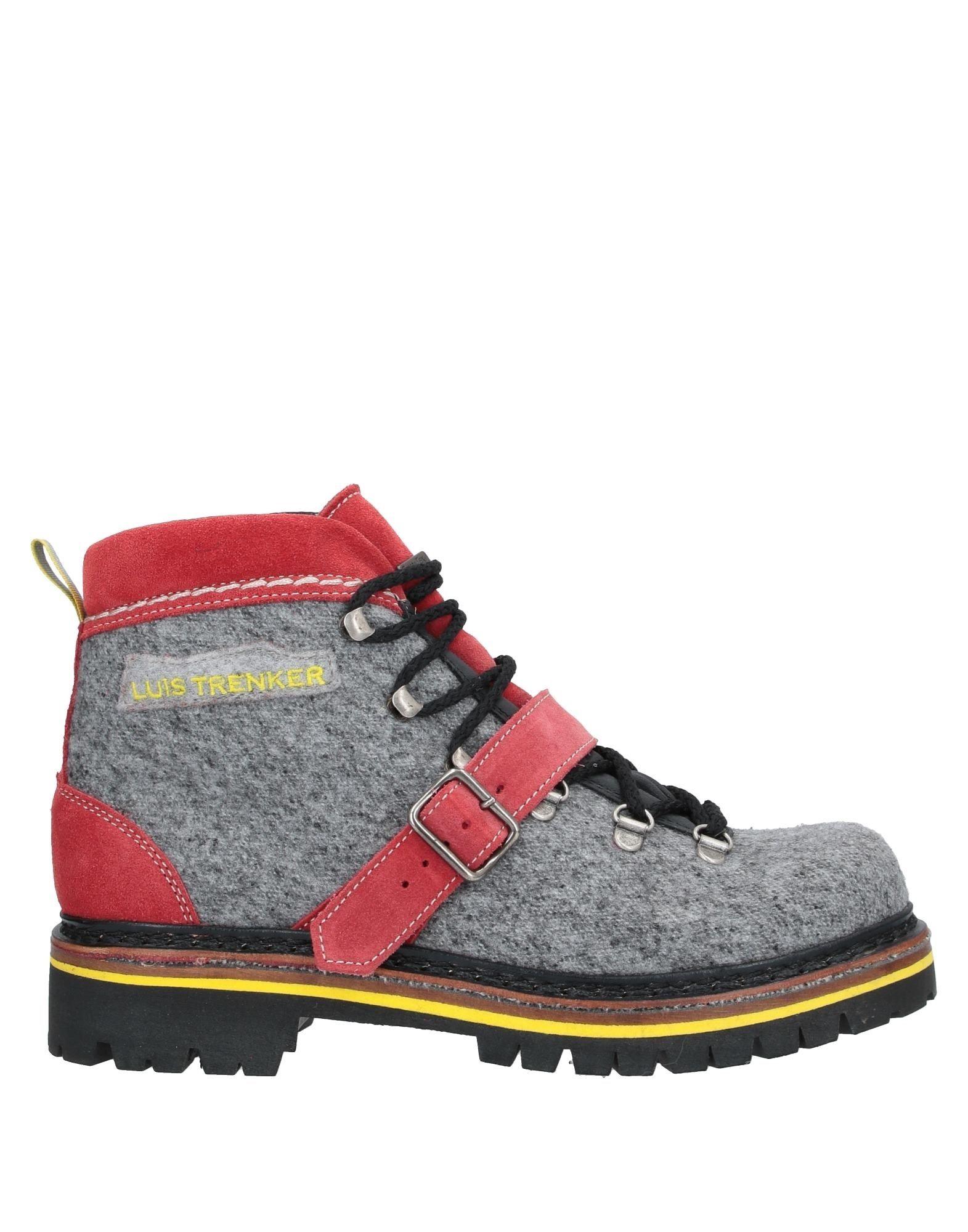 LUIS TRENKER Полусапоги и высокие ботинки luis trenker легкое пальто