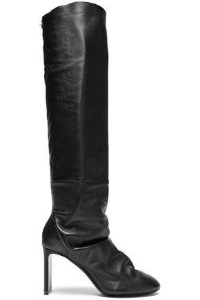 NICHOLAS KIRKWOOD Kim gathered leather knee boots