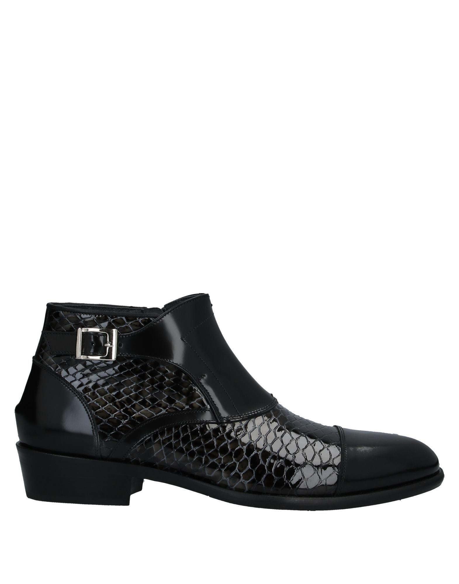《セール開催中》GIOVANNI CONTI メンズ ショートブーツ ブラック 42 革