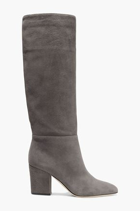 SERGIO ROSSI Virginia suede knee boots