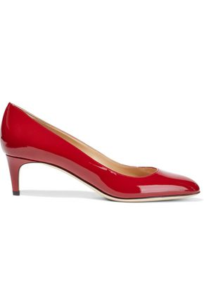 SERGIO ROSSI Madame patent-leather pumps