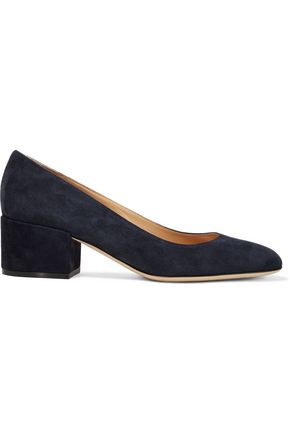 SERGIO ROSSI Virginia suede pumps