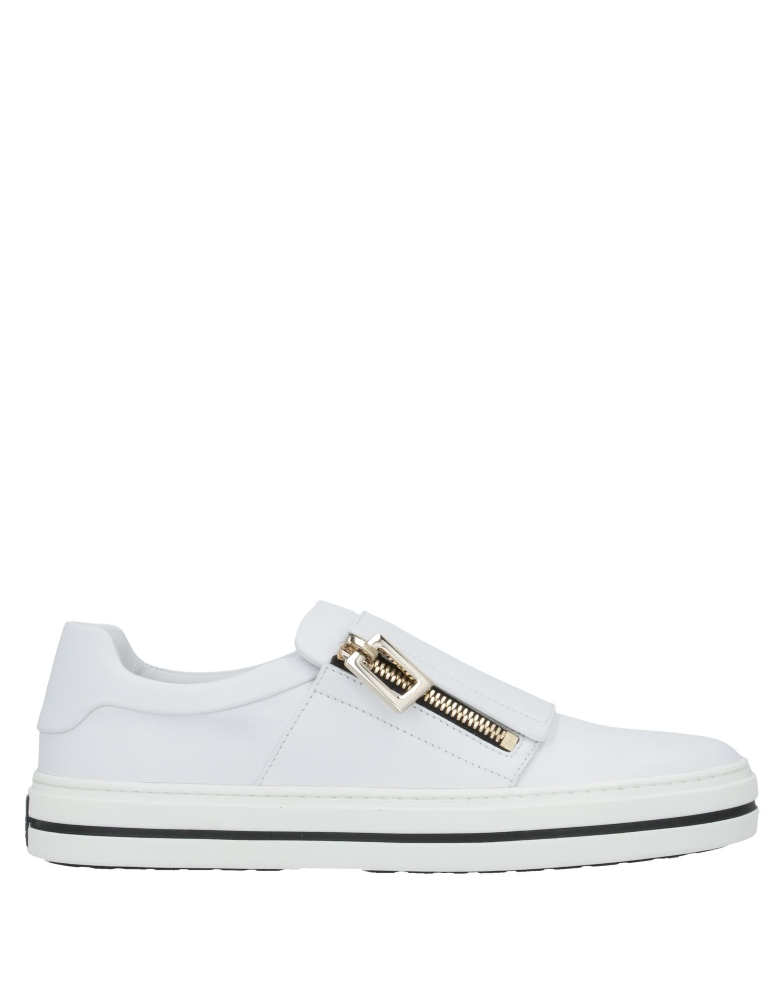 ROGER VIVIER Sneakers. logo, solid color, zip, round toeline, flat, leather lining, rubber cleated sole, contains non-textile parts of animal origin. Soft Leather, Textile fibers