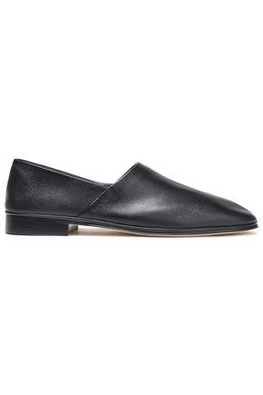 VICTORIA BECKHAM Slim leather slippers