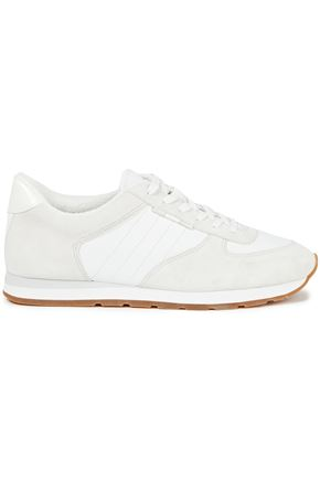 VINCE. Suede and leather sneakers