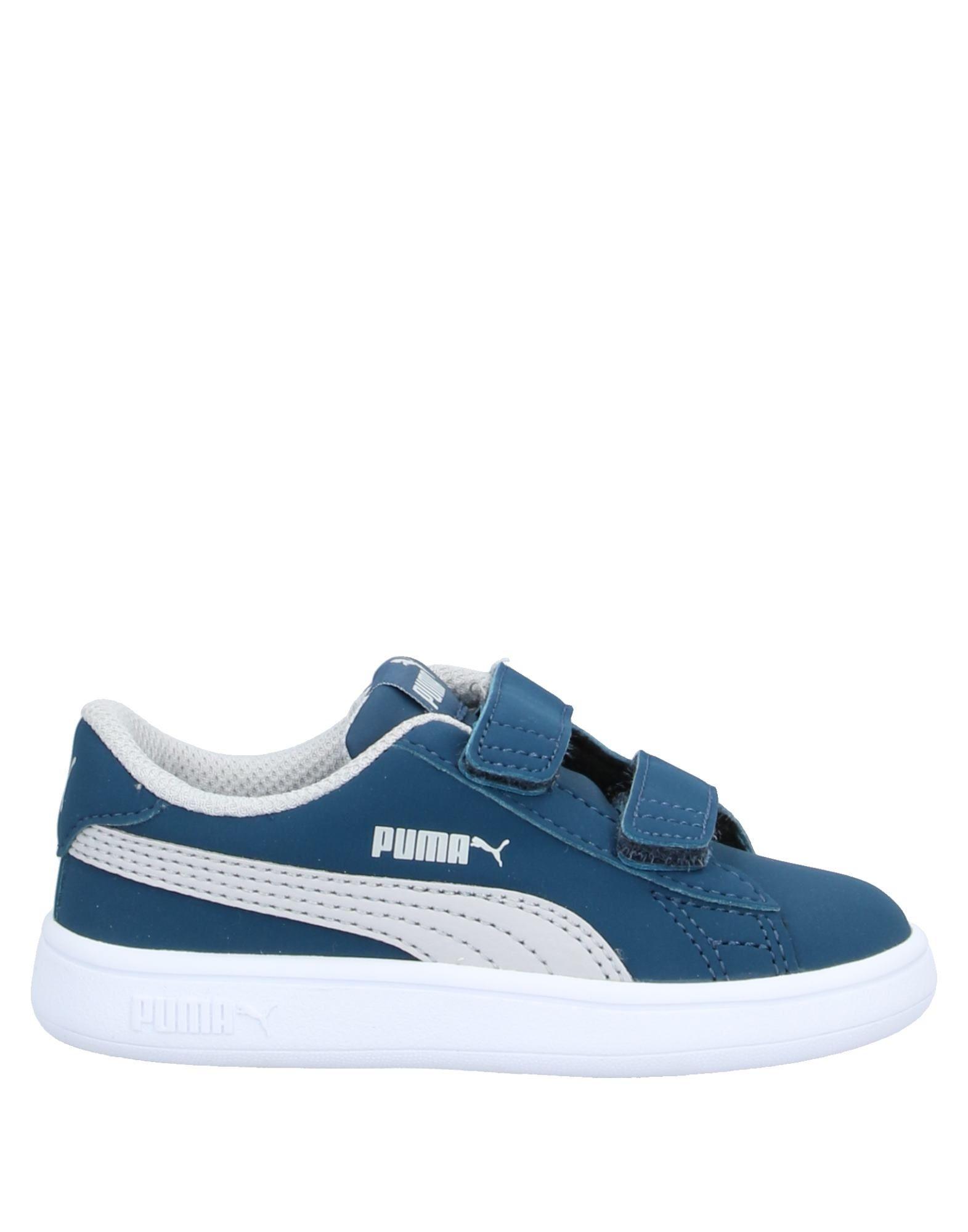 YOOX.COM(ユークス)《セール開催中》PUMA Unisex スニーカー&テニスシューズ(ローカット) ブルーグレー 3C 紡績繊維
