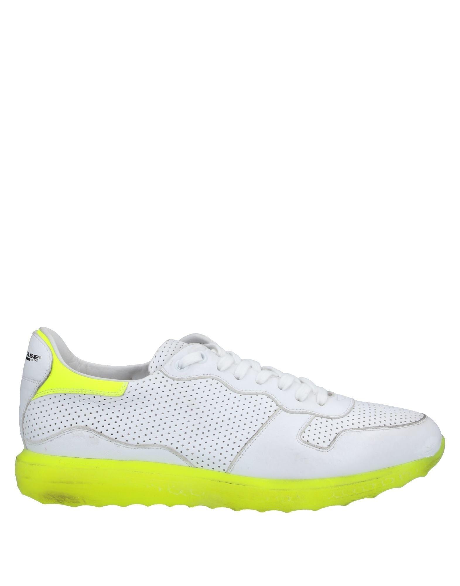 《セール開催中》PRIMABASE メンズ スニーカー&テニスシューズ(ローカット) ホワイト 40 革