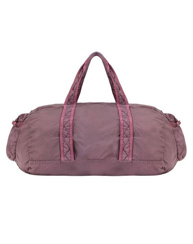 STONE ISLAND 91035 NYLON METAL WATRO RIPSTOP_PACKABLE Travel & duffel bag Man Pink Quartz EUR 180