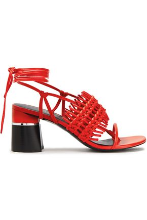 3.1 PHILLIP LIM Drum woven leather sandals