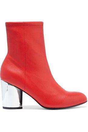 OPENING CEREMONY حذاء بوت على شكل جوارب من الجلد المرن