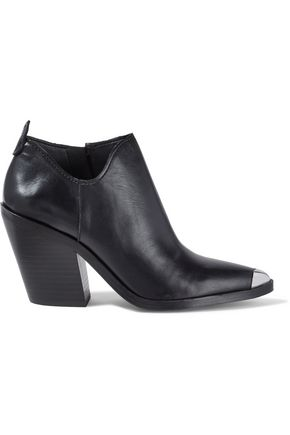 REBECCA MINKOFF Seiji embellished leather ankle boots