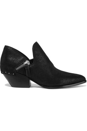 SIGERSON MORRISON Haile2 studded metallic suede ankle boots