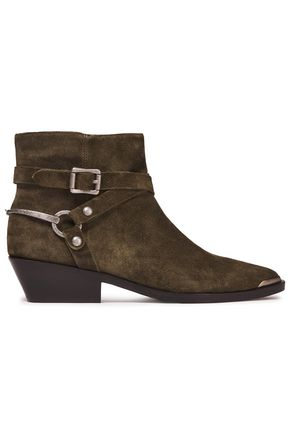 SIGERSON MORRISON Jade buckled leather ankle boots