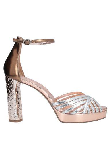 Фото - Женские сандали ELVIO ZANON серебристого цвета