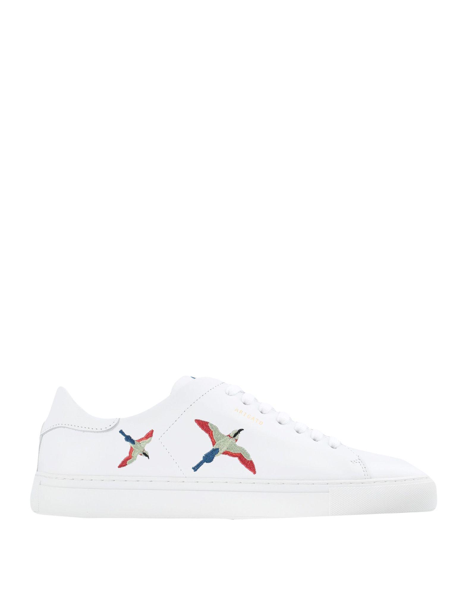 《セール開催中》AXEL ARIGATO メンズ スニーカー&テニスシューズ(ローカット) ホワイト 40 革 100% CLEAN 90 BIRD