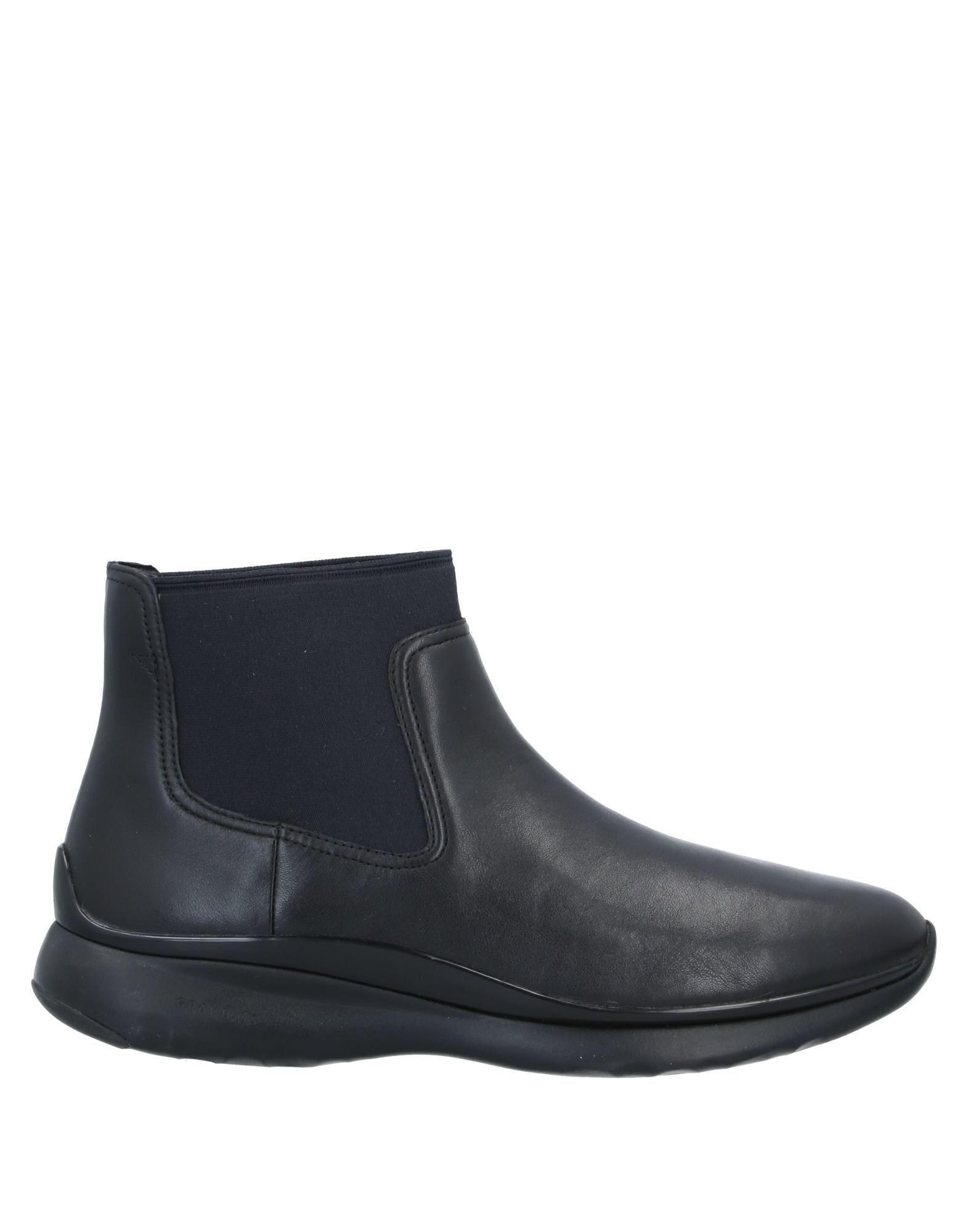 《セール開催中》COLE HAAN レディース ショートブーツ ブラック 6 革