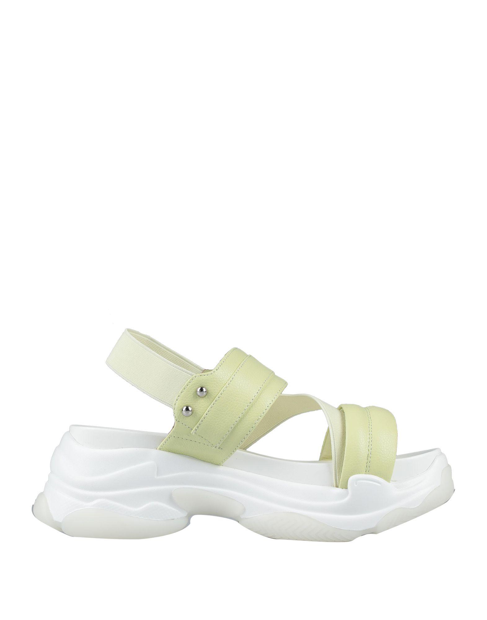 《セール開催中》RITA CORAZZA レディース サンダル ライトグリーン 37 革 / 指定外繊維(その他伸縮性繊維)