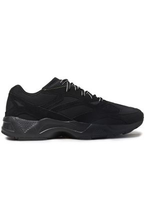 REEBOK Aztrek 96 suede-paneled mesh sneakers