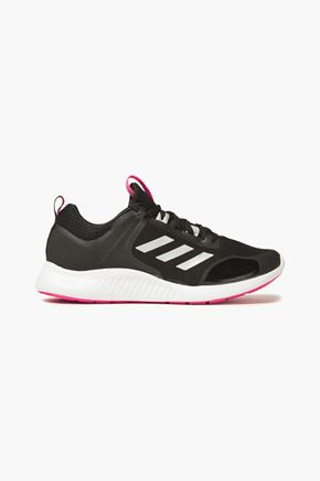 ADIDAS Edgebounce knit-paneled coated mesh sneakers