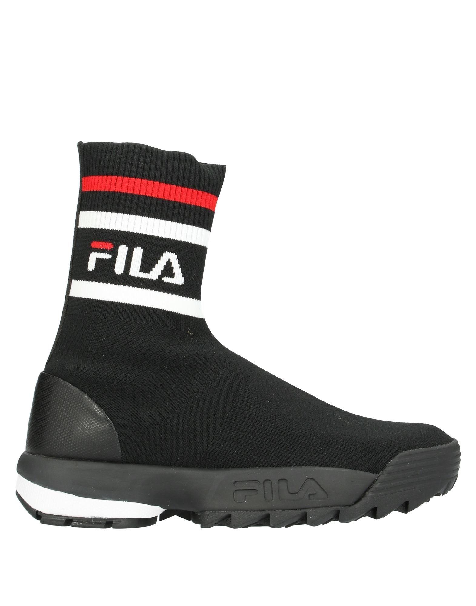 FILA Высокие кеды и кроссовки кроссовки fila fila fi030amejhg8