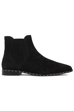 REBECCA MINKOFF Madysin studded suede ankle boots