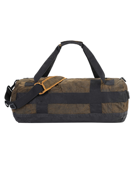 STONE ISLAND SHADOW PROJECT 90520 COMPACT DUFFEL BAG Travel & duffel bag Man Military Green
