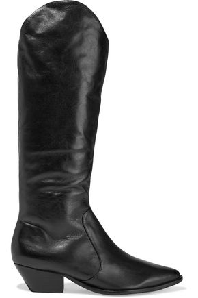 SCHUTZ Fantinne leather knee boots