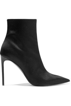 STELLA McCARTNEY Satin ankle boots