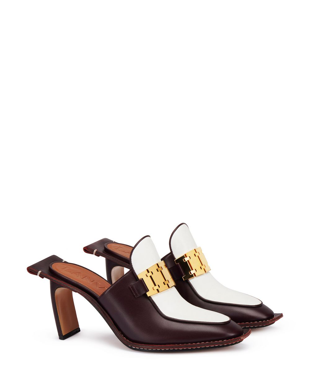 HIGH-HEELED GOURMETTE MULE  - Lanvin