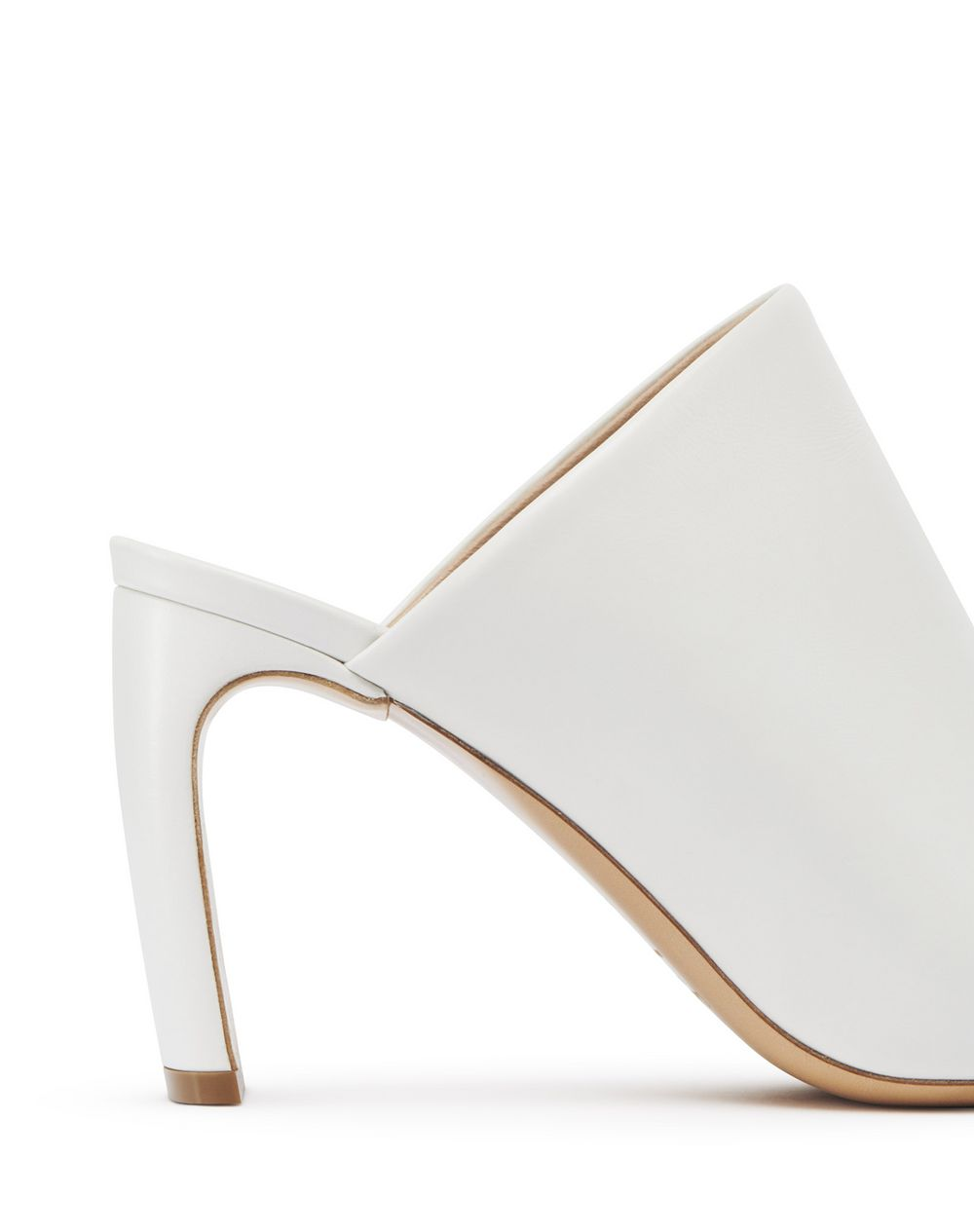 HIGH-HEELED LEATHER MULE  - Lanvin
