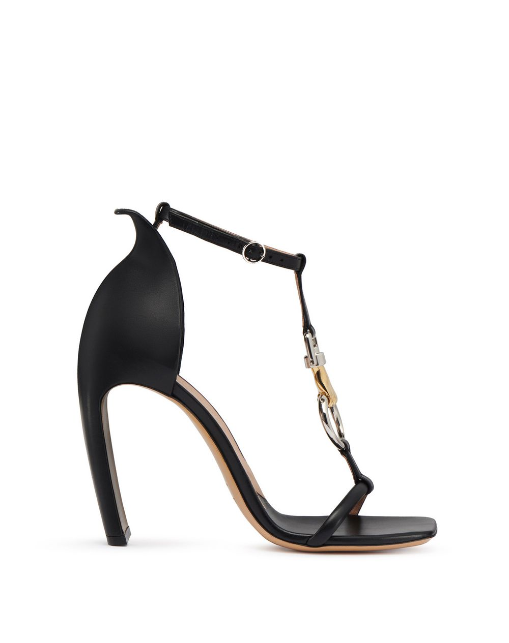 SANDAL WITH JEWELED ANKLE STRAP - Lanvin