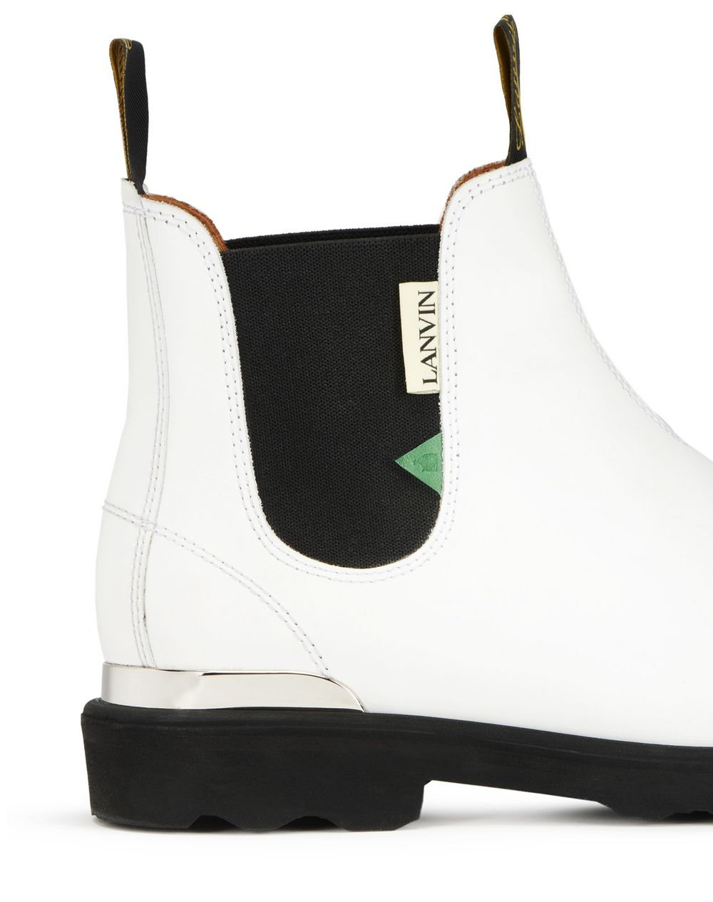 LEATHER CHELSEA ANKLE BOOT - Lanvin