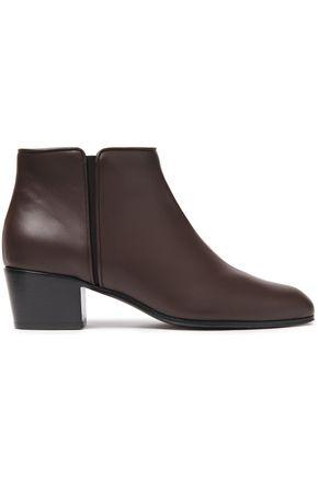 """GIUSEPPE ZANOTTI حذاء بوت إلى الكاحل """"نيكي 40"""" من الجلد"""