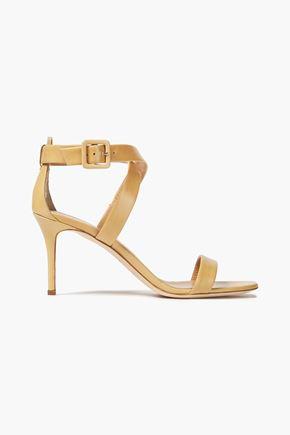 GIUSEPPE ZANOTTI Coline 80 leather sandals