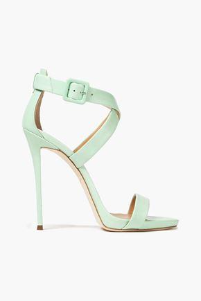 GIUSEPPE ZANOTTI Coline 110 leather sandals