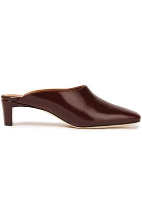 ATP ATELIER Tasso patent-leather mules