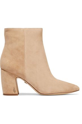 SAM EDELMAN Hilty suede ankle boots