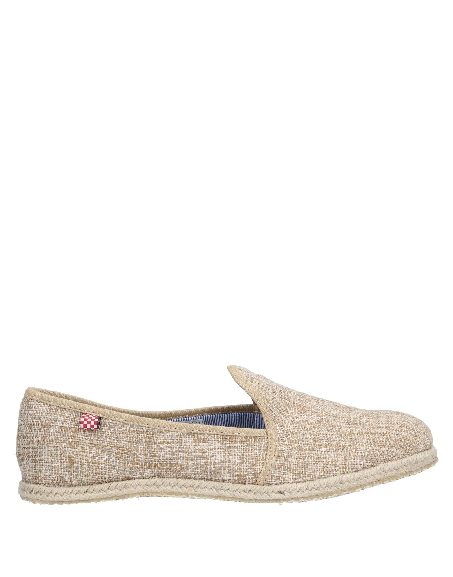 MC2 SAINT BARTH Espadrilles. canvas, contrasting applications, solid color, round toeline, fabric inner, rubber cleated sole, flat, large sized. Textile fibers