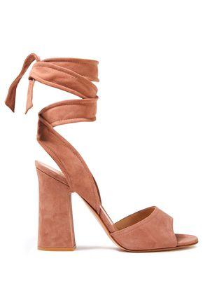 GIANVITO ROSSI Nika 105 suede sandals