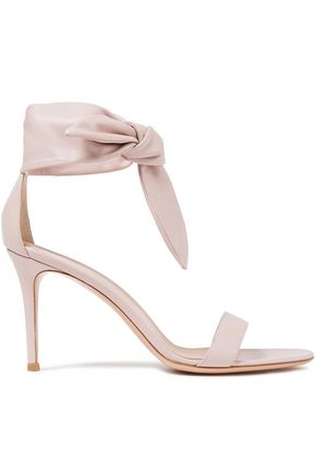 GIANVITO ROSSI Knotted leather sandals