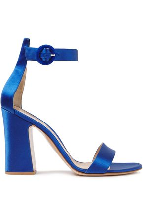 GIANVITO ROSSI Versilia satin sandals
