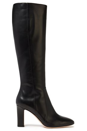 GIANVITO ROSSI Arlay leather knee boots