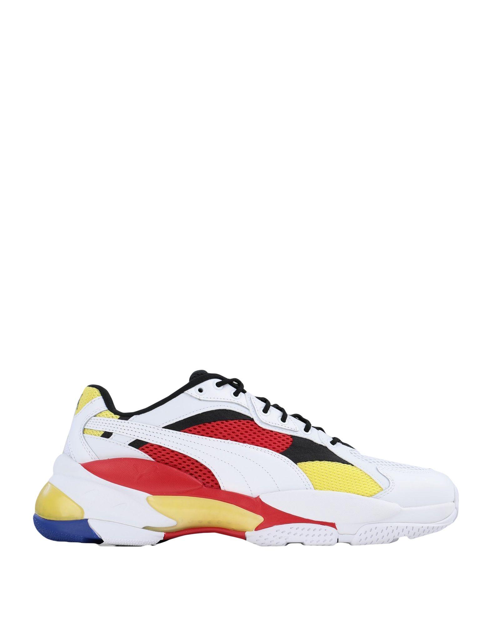 《セール開催中》PUMA メンズ スニーカー&テニスシューズ(ローカット) ホワイト 6.5 紡績繊維 LQD CELL EPSILON
